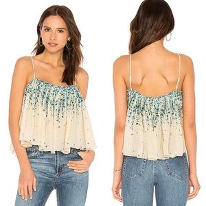 Free People Instant Crush Floral Camisole Top L
